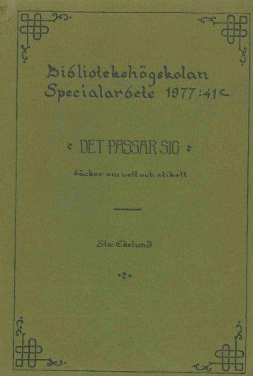 1977 nr 41.pdf - BADA - Högskolan i Borås