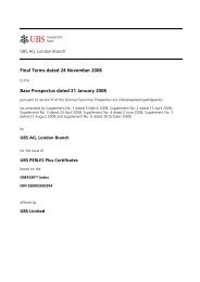 Final Terms dated 24 November 2008 Base Prospectus ... - Carnegie