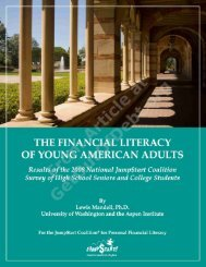 the financial literacy of young american adults - Get Out of Debt Guy