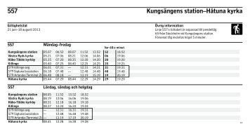 557 Kungsängens station–Håtuna kyrka - SL