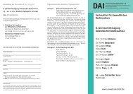 8. Jahresarbeitstagung Gewerblicher ... - Deutsches Anwaltsinstitut ev