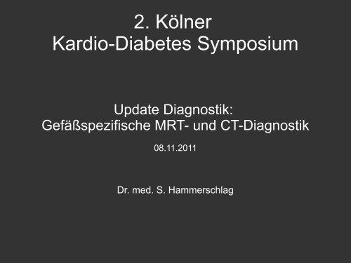 Update gefäßspezifische Diagnostik