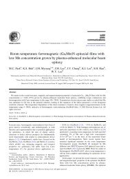 Room temperature ferromagnetic (Ga,Mn)N epitaxial ... - biznine.kr