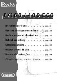 Mod. FX400ECO - KENWOOD SWISS AG