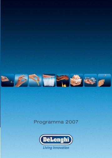 Programma 2007 - KENWOOD SWISS AG