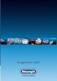 Programme 2007 - KENWOOD SWISS AG