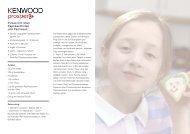 Rezepte als PDF - KENWOOD SWISS AG