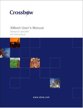 XMesh User's Manual - Crossbow Technology