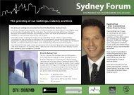 Sydney Forum - Australian Institute of Refrigeration Air ...