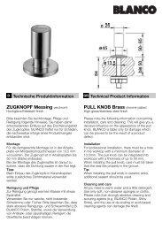 ZUGKNOPF Messing verchromt PULL KNOB Brass chrome-plated