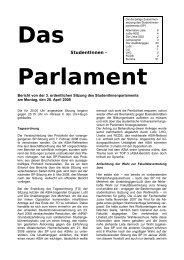 Bericht von der dritten Sitzung des SP am 28-04-2008 (pdf)