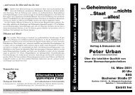 Flyer - Alternative Liste an der Uni Köln