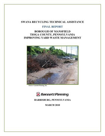 swana recycling technical assistance final report borough