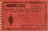 FM Mini Log 2 - The Gator Amateur Radio Club