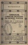Grieksche lyrische dichters en hunne poëzie - Page 5