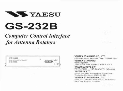 Yaesu GS-232B