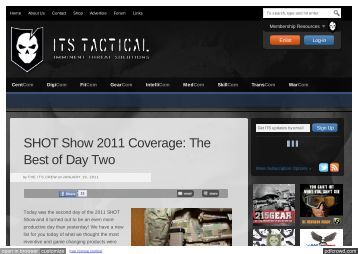 SHOT Show 2011 Coverage: The Best of Day Two