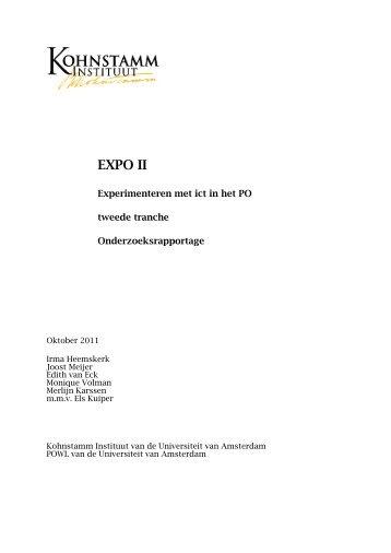 EXPO II - Kennisnet