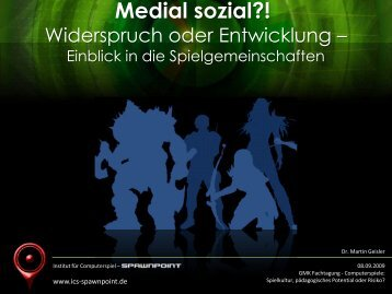 Beitrag Dr. Martin Geisler als PDF - GMK
