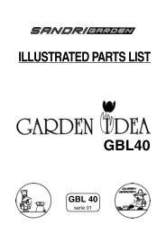 illustrated parts list gbl40 gbl 40 - hesko.at