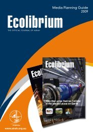 Download the 2009 Ecolibrium rate card - Australian Institute of ...