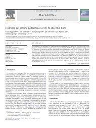 Hydrogen gas sensing performance of Pd–Ni alloy ... - Biznine.com