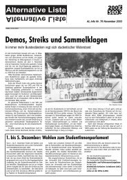 pdf-Dokument. - Alternative Liste an der Uni Köln