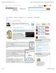 Osprey Kestrel 28 backpack review