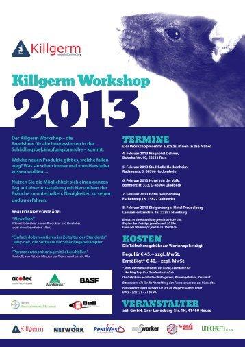 Killgerm Workshop