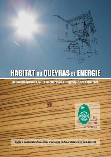 HABITAT DU QUEYRAS ET ENERGIE - Alpstar Project
