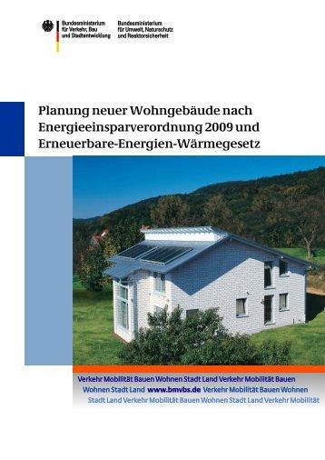 Planung neuer Wohngebäude nach ... - BMVBS