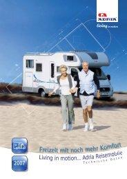 Technische Daten 2007 - M/S VisuCom GmbH