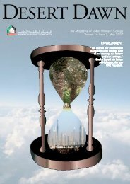 The Magazine of Dubai Women's College Volume 16 Issue 2, May ...