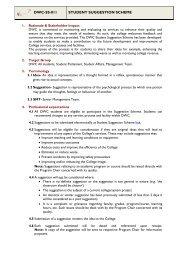 DWC-SS-011 STUDENT SUGGESTION SCHEME