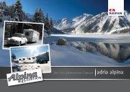 Der Vier-Jahreszeiten Caravan adria alpina - M/S VisuCom GmbH