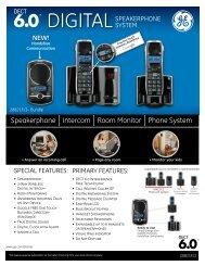 Speakerphone Intercom Room Monitor Phone System - SmithGear