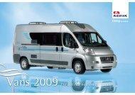 Prospekt Vans 2009 - M/S VisuCom GmbH