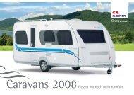 Prospekt Caravans 2008 - M/S VisuCom GmbH