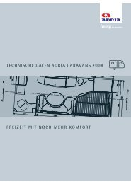 Technische Daten & Preise Caravans 2008 - M/S VisuCom GmbH