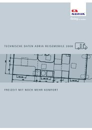 Technische Daten Reisemobile 2008 - M/S VisuCom GmbH