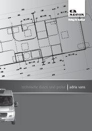 Technische Daten Vans 2010 - M/S VisuCom GmbH