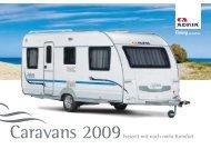 adria caravans 2009 - M/S VisuCom GmbH