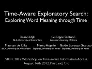 Exploring Word Meaning through Time - Microsoft Research