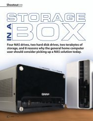 Four NAS drives, two hard disk drives, two terabytes of ... - Synology