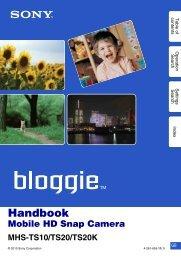 Handbook - Sony