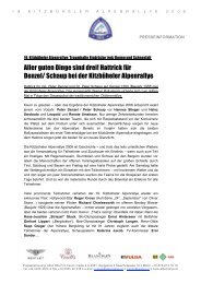 the newest information - Kitzbüheler Alpenrallye
