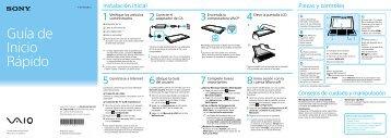Guía de Inicio Rápido - Sony