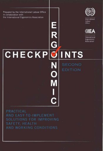 Ergonomic checkpoints - International Labour Organization
