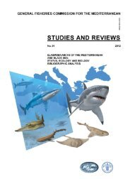 Elasmobranchs of the Mediterranean and Black sea