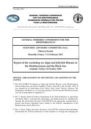 Report of the workshop on Algal and Jellyfish Blooms in the ...